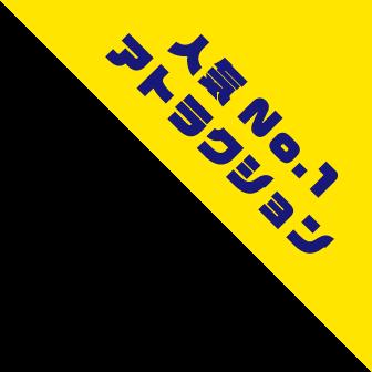 人気No.1アトラクション